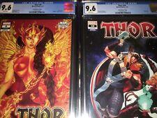 2 Thor Variant CGC 9.6 Books - #9 - Frison Variant & #10 - Klein Variant