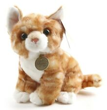 miss oh/Stuffed Plush Soft Toy Stofftier  cute  baby animal gold kitty cat 21cm