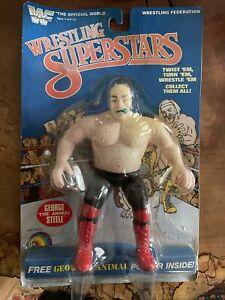 """WWF Wrestling Superstars George """"The Animal"""" Steele Figure 1985 #5423"""
