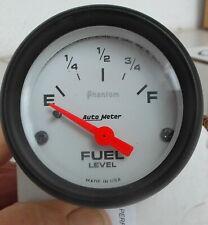 """Auto Meter Fuel Gauge 2 1/16"""""""