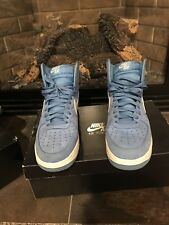 Air Force 1 high blue suede. size 11