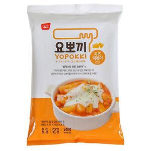 Yopokki Instant Cheese Tteokbokki Rice Cake 240g Cheese Sauce Korean Food