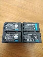 4x Panasonic Li-Ion Battery Pack CGA-D54s 7.2V 5400mAh for Video Camera P2 OEM