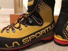 La Sportiva Nepal Cube GTX Yellow Winter Boots Size 9.5