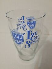 Old Style I've Got Style Beer 28 oz Glass