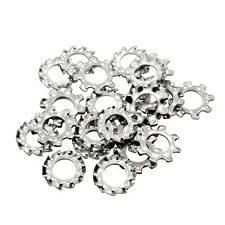 LOT of 100 #A Steel Overlap Washers for Tattoo Machines Replacement Parts Bag
