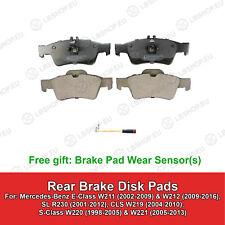 REAR Brake Pads For Mercedes-Benz W211 W212 C219 W220 W221