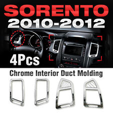 for KIA 2010-12 Sorento Chrome Interior Air Duct Molding Cover Trim Garnish B627