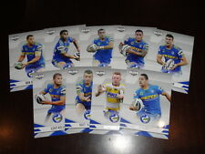 2013 NRL ELITE TEAM SET OF 9 CARDS PARRAMATTA EELS
