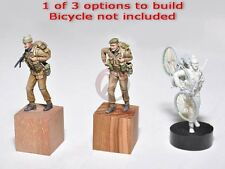Resicast 1/35 British Commando #1 June 1944 Carrying Bicycle (3 options) 355659