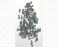 Miniature Hardware Parts Pack of 100 Small #2 x 1/4 Self Tapping Wood Screws