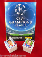 Panini Champions League 2007/2008 Satz komplett + Album = alle Sticker CL 07/08