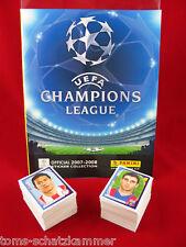 Panini Champions League 2007/2008 conjunto completamente + album = todos sticker cl 07/08