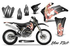 YAMAHA WR250F WR450F 2007-2011 GRAPHICS KIT CREATORX DECALS YRS