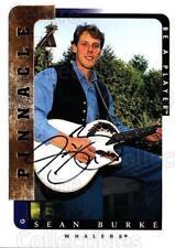 1996-97 Be A Player Auto #18 Sean Burke