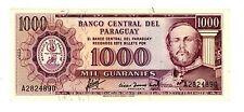 Paraguay ... P-201a ... 1000 Guaranies ... L.1952 ... *Ch AU*