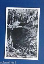 Real Photo Postcard (RPC), Lava Tube, Hawaii National Park
