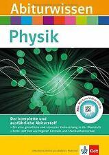 Abiturwissen Physik: Buch mit Lern-Videos von Reimbold, ... | Buch | Zustand gut