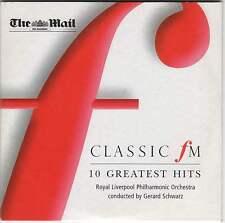 CLASSIC FM 10 GREATEST HITS: RLPO / GERARD SCHWARZ: GRIEG STRAUSS PACHELBEL ETC