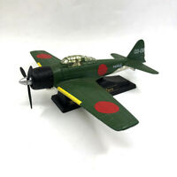 1:48 Scale WWII Japan Mitsubishi A6M Zero Fighter Diecast Metal + Plastic Model