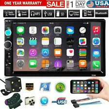 DOUBLE 2DIN Car MP5 Player BT Tou+ch Screen Stereo Radio HD+Camera Mirror Link