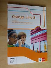 Orange Line 2 - Workbook mit Audio-CD und Übungssoftware