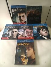 Ultimate Edition Harry Potter Bluray + DVD + 3D