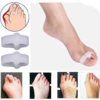 2X Gel Silicone Bunion Corrector Toe Protector Straightener Spreader Separator