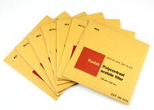 U199347 Kodak 5x5-in. Polycontrast Filters Nos. 1-4 in 1/2-Grade Steps Genuine