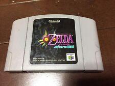 ZELDA MAJORA'S MASK Nintendo 64 Japan Import ver08B