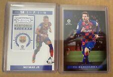 2019-20 Chronicles Soccer - FC Barcelona Neymar Jr Historic Ticket, Messi Panini