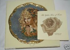 The Yellow Rose of Texas Plate 1983 by Irene Spencer Symphony of Roses 2152
