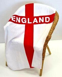 England St George Cross 100% Cotton Lightweight Towel
