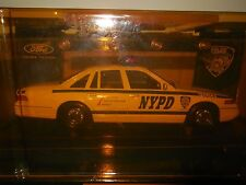 nypd code 3 police car with patch ford crown victoria