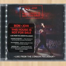 BON JOVI This House Is Not for Sale LIVE from the London Palladium CD       0425