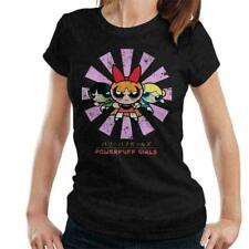 Powerpuff Girls Retro Japanese Women's T-Shirt