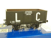 DAPOL O GAUGE LIMITED EDITION WAGON LITTLETON COLLIERY (LOOK)