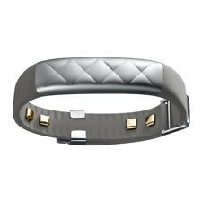 Jawbone Up3 Heart Rate Activity Sleep Tracker Silver Cross Sport Monitoring Gym