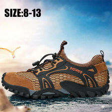 Men's Non-slip Hiking Shoes Casual Athletic Outdoor Sports Running Sneakers Gym