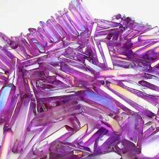 50g Natural Rare Purple amethyst Quartz Crystal Point Healing Rock Stone Mineral