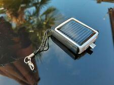 Novelty Solar Powered Keyring microUSB charger (600mAh)