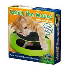 Attrape la Souris Pet Cat Motion Jeu Avec Scratch Pad Peluche Moving Claw Toy TV