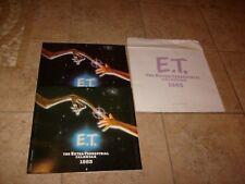 2 Original E.T. The Extra Terrestrial Vintage CALENDER Set Lot 1983