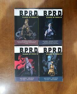 BPRD Plague of Frogs Vol 1 2 3 4 Dark Horse Comics TPB GN SC Mignola HELLBOY SET