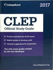 College Board Clep Official Study Guide 2017 Edition Level Examination Program