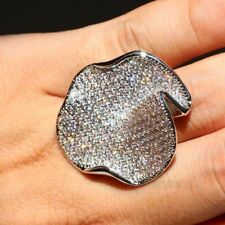 925 Silver Filled White Sapphire Stingray Women's Fashion Ring Size 9 (New)
