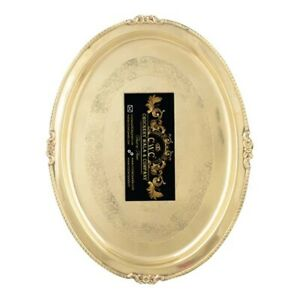 Brass Serving Tray Plate Rare Oval Brass Tray For Serving Kitchenware Dinnerware