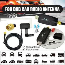 USB KFZ DAB+ Autoradio Antenne Receiver Empfänger Transmitter Adapter + Scheiben