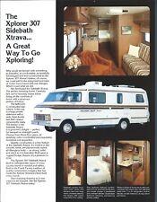 Motor Home Brochure - Xplorer - 307 Sidebath Xtrava - c1979  (MH128)