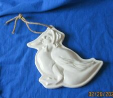 Old Pottery Jemima Puddleduck Cookie Stamp Mould Mold Wall Hanging